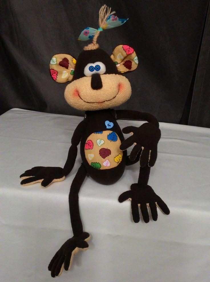 веселая обезьянка символ 2016 года
