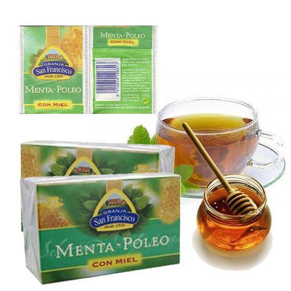 Pennyroyal Tea with Honey, Granja San Francisco, Spain.
