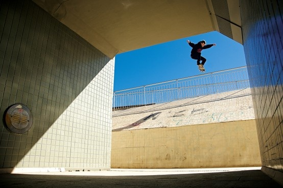 JOSE MANUEL ROURA drop-in into the tunel. #xkaters #pro