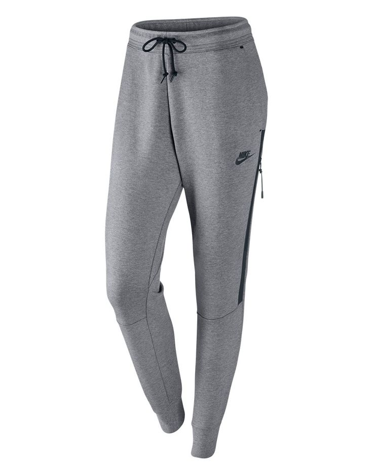 Nike - Broek - Nike Tapered Sweatpants Grey