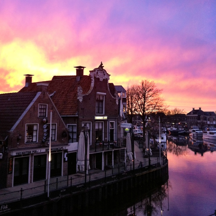 My view ❤❤❤ @Lemmer, The Netherlands. My home town!