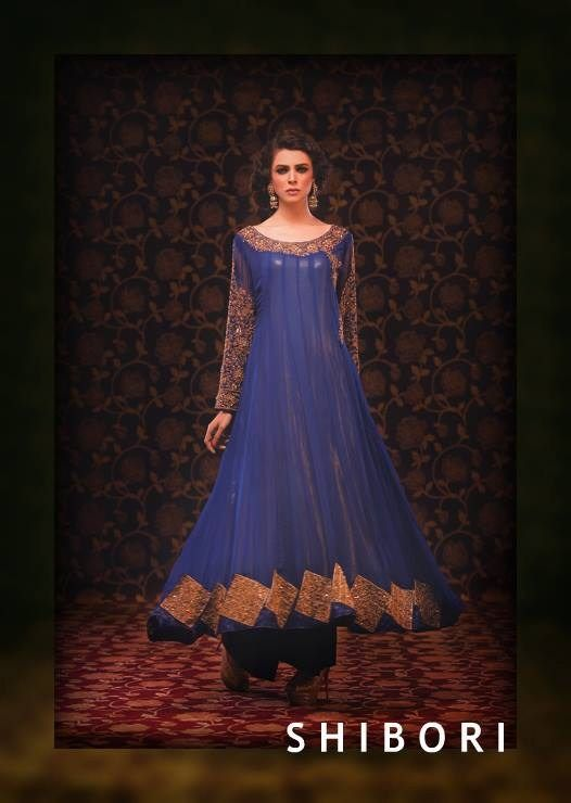 Shibori Formal Wear Collection 2014 For Ladies 002 for women local brands