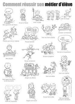 Poster des règles de l'école