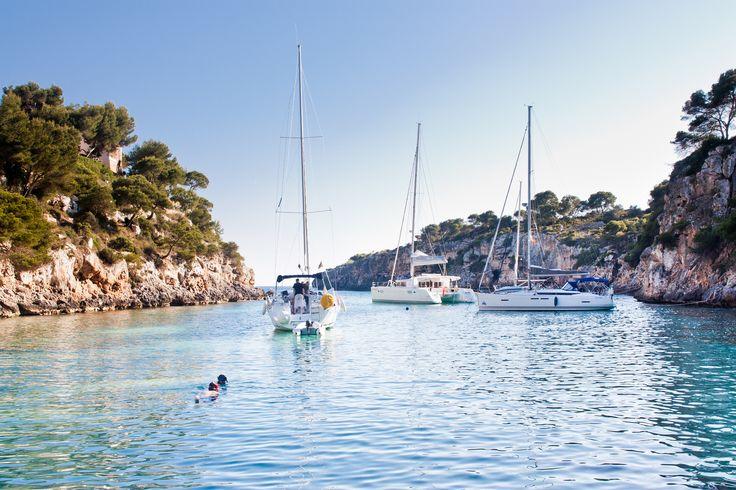 Dans une crique de #Majorque. #Baléares #Espagne