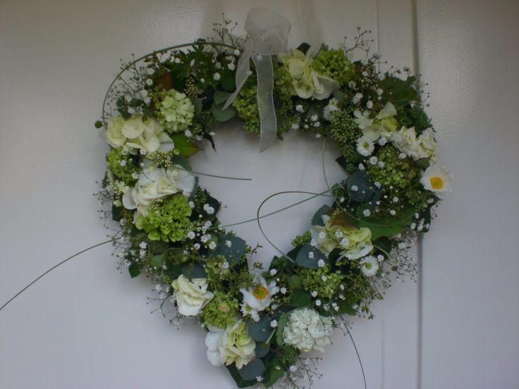 Bloemenhartje voor een bruiloft