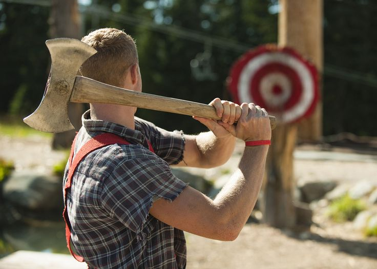 lumberjack competitions. Because Canada.