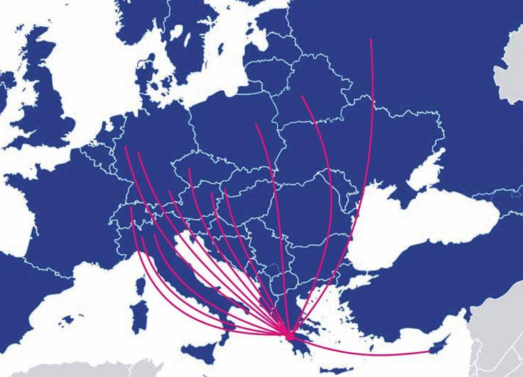 Araxos airport destinations 2013