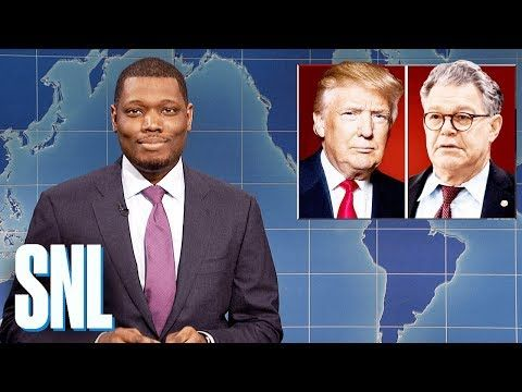 I think they're all bitches too. Weekend Update on Senator Al Franken - SNL - YouTube