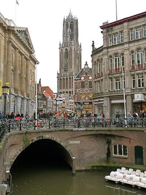 Stadhuisbrug & Domtoren, Utrecht, The Netherlands.