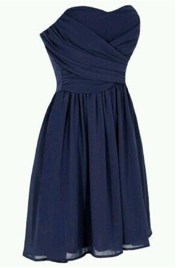 Navy Blue Prom Dress,Sweetheart Prom Dress,Fashion Homecoming Dress,Sexy