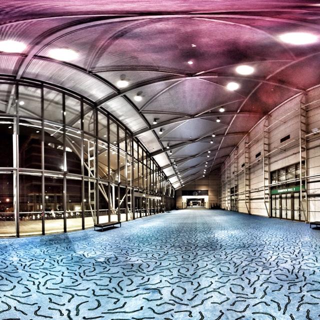 Brisbane Convention and Exhibition Centre concourse.