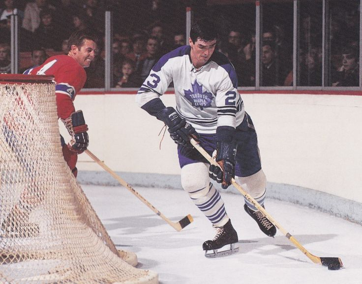 Pat Quinn and Jean Beliveau | Toronto Maple Leafs | Montreal Canadiens | NHL | Hockey