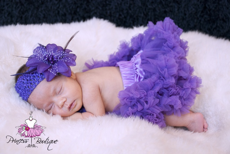 Amalka in our newborn pettiskirt photography set