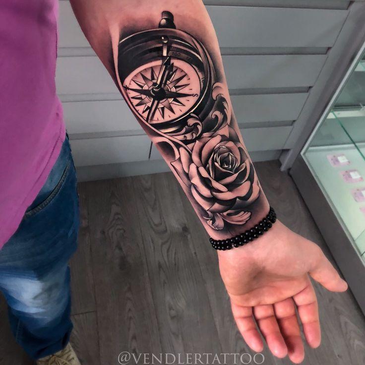 Compass Tattoo Design Tattoo Designs Kompass Tattoo Rose