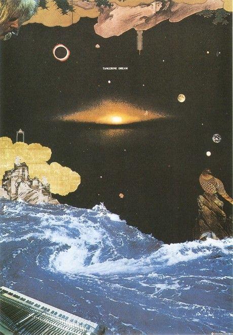 Tangerine Dream poster by Tadanori Yokoo