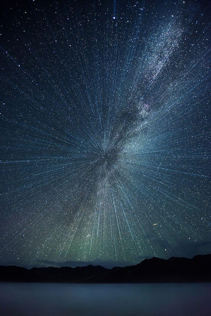 ~~Big Bang!!   explosive starry nightscape, Pangong Lake, Ladakh, India   by nimitnigam~~