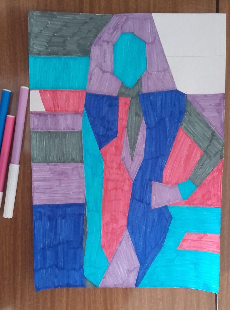 Materiales utilizados en el empleo del dibujo en tonos fríos.