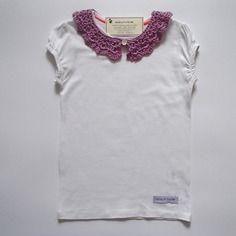 T-shirt da bambina, in puro cotone - taglia 4-5 anni
