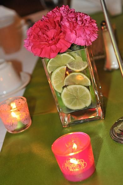 Simple and affordable centerpiece