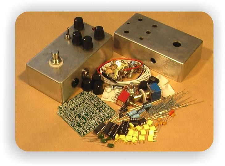 26 best guitar stompbox diy images on pinterest guitars guitar digital echo and ping pong diy effects pedal kit byoc solutioingenieria Choice Image