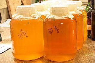 Melvyn's Feijoa Wine: freeze fruit for fermentation