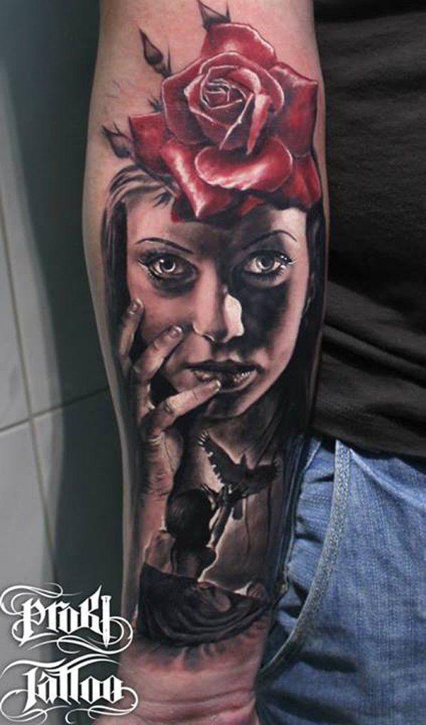 3D Forearm Tattoo - 55+ Awesome Forearm Tattoos