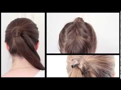 6 Quick and Easy Ponytail Hairstyles for School 2017
