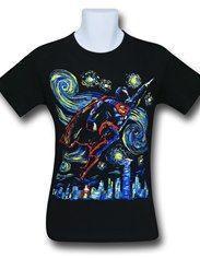 Superman Starry Night T-Shirt