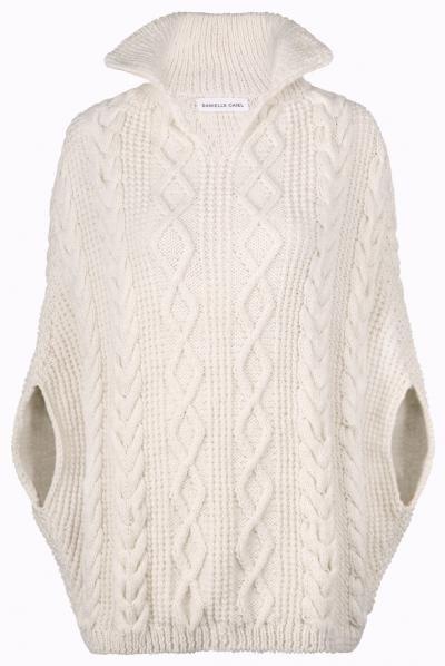 Queen Anne sleeveless knit dress Designer Knitwear by Danielle Chiel