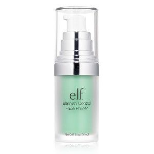 Our Blemish Control Face Primer is infused with Salicylic Acid, Vitamin E, and Tea Tree extract to help control breakouts and blemishes while preparing your skin so makeup will go on evenly with a long-lasting satin finish. (just $6!) #elfcosmetics #playbeautifully
