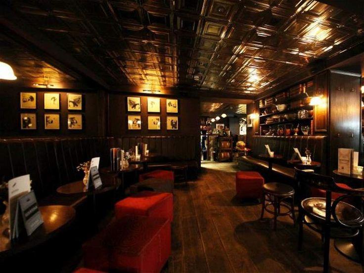 Bar Nighjar, en Londres, está en tercer lugar. http://www.barnightjar.com/