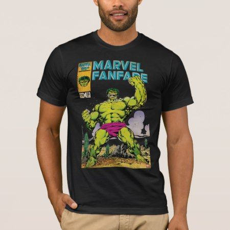 Marvel Fanfare Hulk Comic #29 T-Shirt - tap to personalize and get yours