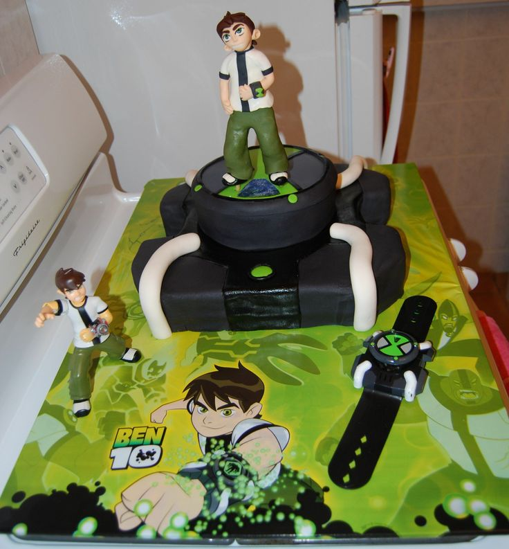 17 Best Cakes Ben 10 Images On Pinterest Ben 10 Cake Ben 10 And