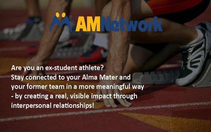 Are you an ex-student athlete? Stay connected to your Alma Mater and your former team in a more meaningful way - by creating a real, visible impact through interpersonal relationships!  Know more: https://www.mentorstudentathletes.com/ Register here: https://www.mentorstudentathletes.com/register.php