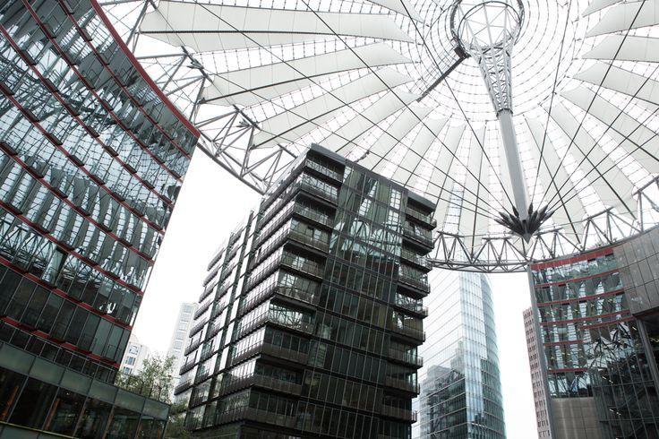 Fay City Diaries' third destination: Potsdamer Platz - Sony Center. http://www.fay.com/it/city-diaries/berlino?country=it