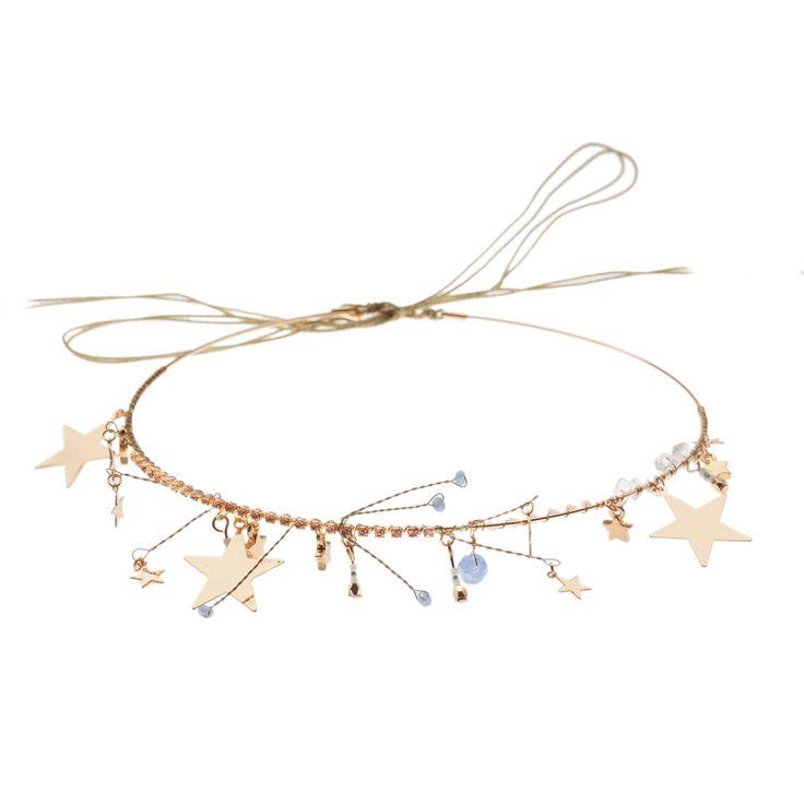 Stargazer Hair Crown SS16 Stargazer Collection - Orelia Jewellery www.orelia.com