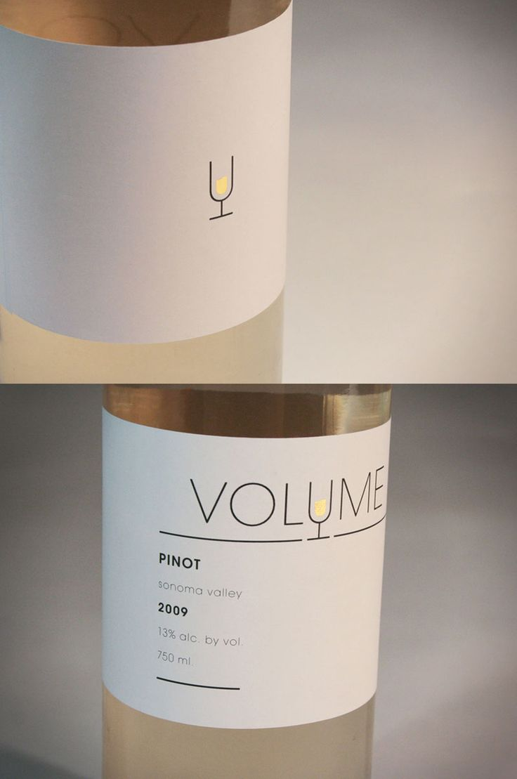 Elements: Formed by an even width lines. Geometric shape of the letters. The gold object creates a focus point but balanced with the black lines of the texts. ----- A wine packaging design. Very stylish, sleek, simple. the geometric design of glass is iconically simple and the gold wine part stands out and speaks for it. It is quiet and loud at the same time. interesting.