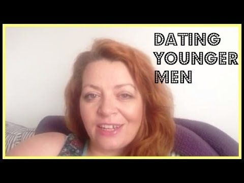Dating younger men.