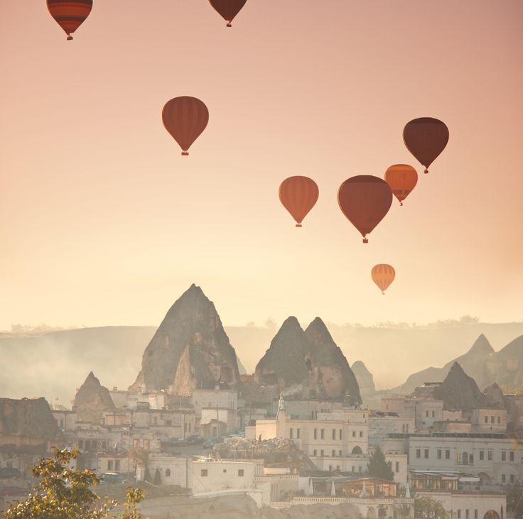 Cappadocia, Turkey -- #travel #bucketlist