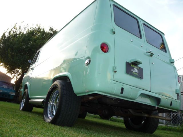 1965 FORD ECONOLINE HIPPIE VAN for sale: photos, technical