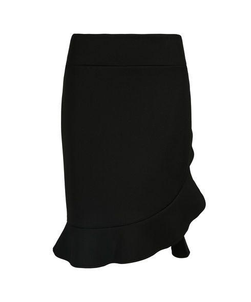 Scuba Flounce Skirt