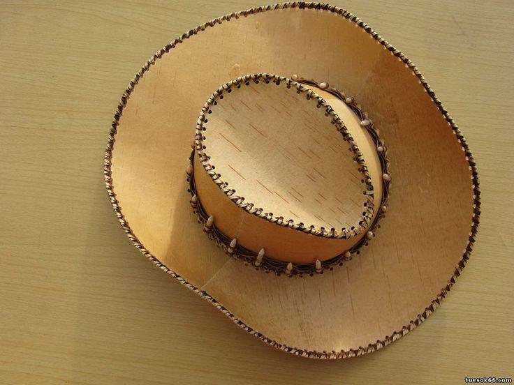 Деревянные ковбойские шляпы
