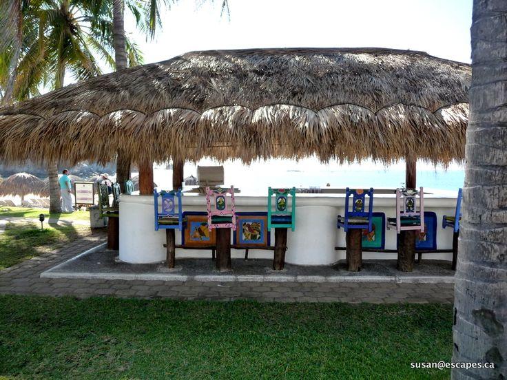 The quaint ocean front bar