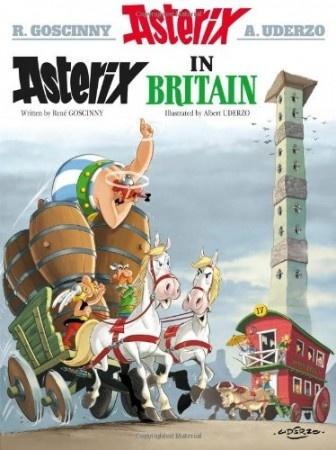 Rene Goscinny – Asterix in Britain  #asterix