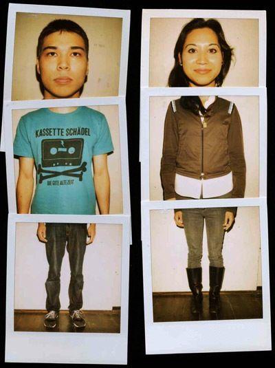 Polaroid Kwartetten    take nothing but polaroids: Polaroid Portraits