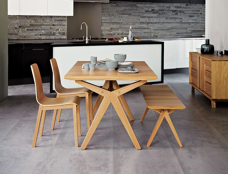 DGM 60 Noah Dining Table And Bench Designed By Bethan Grey For John Lewis