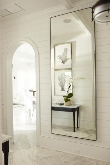 love the mirror  House Tours: Meeting Point - Design Chic