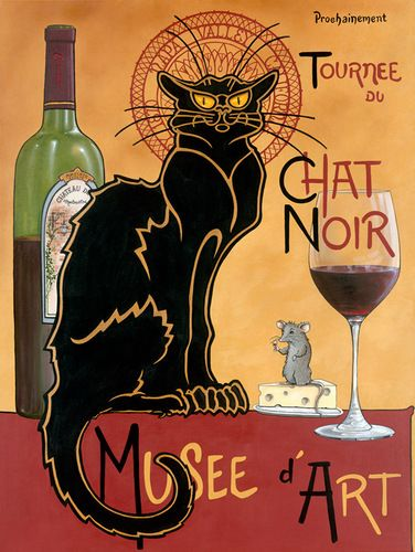 Chat Noir by Patrick O'Rourke