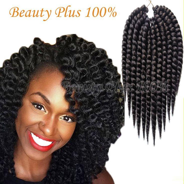Havana Mambo Twist Crochet Braid Hair 12'' 75g/pack Synthetic crochet braids senegalese Twists Braiding Hair Extension