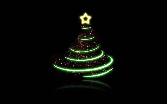 3D Christmas Tree Wallpapers for PC Desktop